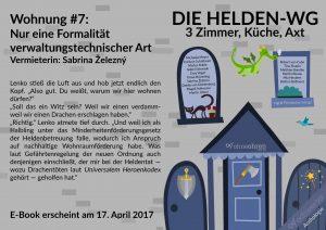 """Ein Auszug aus der Anthologie """"Die Helden-WG"""""""